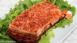 getlinkyoutube.com-Crispy Roast Pork (Thit Heo Quay)