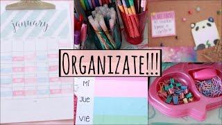 Diy ❤️ Ideas de organización - Escuela/universidad/diario