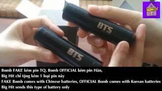 Army Bomb   FAKE Vs OFFICIAL (with Engsub)