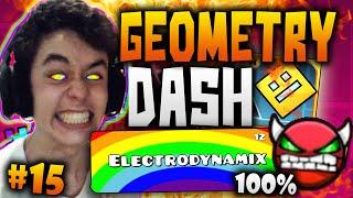"""getlinkyoutube.com-Geometry Dash! """"ELECTRODYNAMIX"""" COMPLETADO 100% #15 - TheGrefg"""