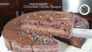 getlinkyoutube.com-Chocolate Gâteau Basque Recipe – Bruno Albouze – THE REAL DEAL