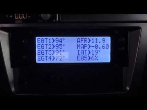 Subaru sti 4x egt (maxidisplay)