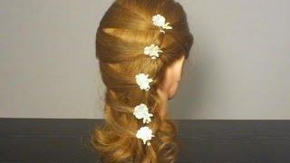getlinkyoutube.com-Быстрая прическа для длинных волос. Easy hairstyle for long hair
