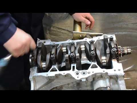 Кап. ремонт двигателя 1NZ-FE ( вторая часть )