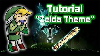 getlinkyoutube.com-Flauta - The Legend of Zelda Theme | Tutorial (Notas)