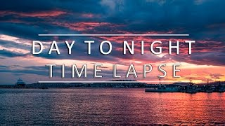 Day to Night Timelapse 4k | Greece | Kastela Peiraias
