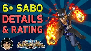 getlinkyoutube.com-6 Star Plus SABO! Full Detail and Character Rating [One Piece Treasure Cruise]