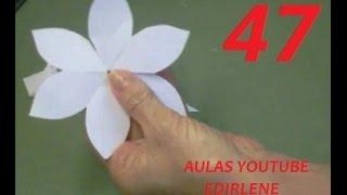 getlinkyoutube.com-AULA 47: Como fazer moldes das flores, que linhas e colas usar (atendendo pedidos)