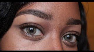 getlinkyoutube.com-Desio Contact lense review Carmel Brown on Dark eyes