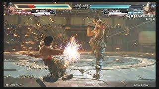 getlinkyoutube.com-[Tekken Crash Returns] 테켄 크래쉬 리턴즈 1부 4강전 -EsportsTV 철권7