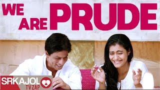 SRKajol TV Zap - We are prude | Shah Rukh Khan and Kajol