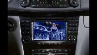 getlinkyoutube.com-Mercedes E-Class W211 - How to unlock DVD While Driving