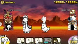 getlinkyoutube.com-The Battle Cats - Flame Caldera