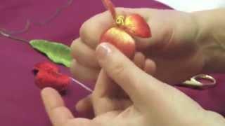 getlinkyoutube.com-ОБЪЕМНАЯ ВЫШИВКА(СБОРКА ЦВЕТКА)\ assembly of parts of a flowerSTUMPWORK