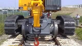 getlinkyoutube.com-COLMAR - T10000FSC Rail/Road Loaders (2005)