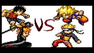 getlinkyoutube.com-Goku vs Naruto vs Luffy vs Ichigo