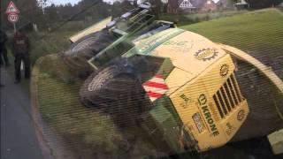 getlinkyoutube.com-wypadki przy pracy 03 maszyny rolnicze, ciagniki, zakopane, spalone