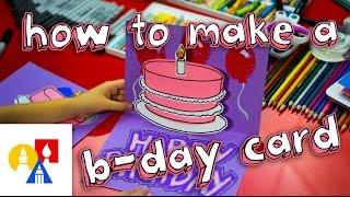 getlinkyoutube.com-How To Make A Pop Up Birthday Card