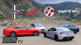 getlinkyoutube.com-Ecoboost Mustang vs. WRX vs. FRS vs. Fiesta ST – Greatest Hits? – Everyday Driver