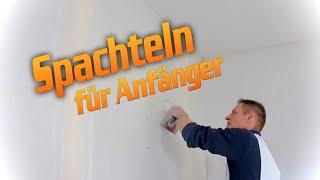 Dachausbau / Trockenbau Spachteln