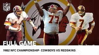 getlinkyoutube.com-Cowboys vs. Redskins 1982 NFC Championship | NFL Full Game