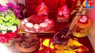 getlinkyoutube.com-Đồ Cúng Tâm Linh - (2) Cách đặt bàn thờ thần tài và ông địa sao cho đúng