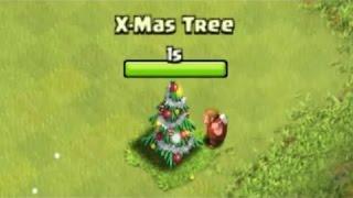 getlinkyoutube.com-Clash Of Clans: How to Get A Christmas Tree + Defense!