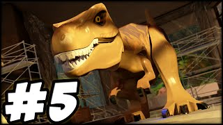 getlinkyoutube.com-LEGO Jurassic World - PART 5 - JURASSIC PARK NO MORE! (Gameplay Walkthrough HD)