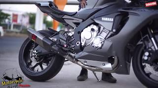 getlinkyoutube.com-YaMaHa R1 2015 - 2016 & Beautiful R1 Sound + Ninja ZX10R, GSXR 1000, R6, R1 - 2009 -2014 Modell