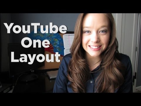New YouTube One Channel Layout (Video)