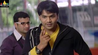 getlinkyoutube.com-Prayanam Movie Manchu Manoj Convencing Harika For A Coffee | Sri Balaji Video