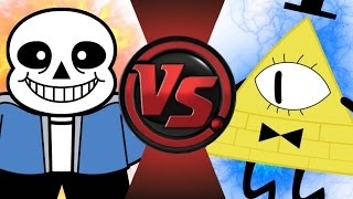 getlinkyoutube.com-SANS vs BILL CIPHER! Cartoon Fight Club Episode 36
