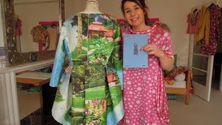 getlinkyoutube.com-How to make a coat - Easy sewing tutorial