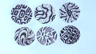 getlinkyoutube.com-Уроки рисования. Графика и фактура.Учимся рисовать