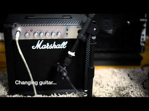 Marshall MG15 - Play through