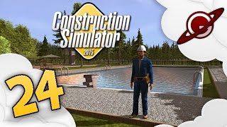 getlinkyoutube.com-Construction Simulator 2015 | 24 - La Piscine du Stade (3/3)
