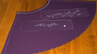 How To Cutting A Child's Flared Skirt (height 104 Cm) - DIY Crafts Tutorial - Guidecentral