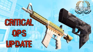 Critical Ops 4.0 Update! - New Knife, New Map Names, and More!