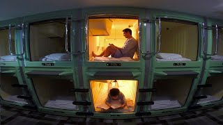 Tokyo Capsule Hotel Experience ★ ONLY in JAPAN