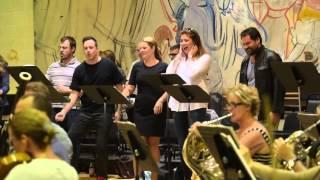 MOH Anna Bolena rehearsal (sitzprobe), Fall 2015 - Sondra Radvanovsky
