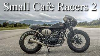 getlinkyoutube.com-Small Cafe Racers 2 (125cc) - keeway, Stallions, Mash, Bajaj, Honda CG