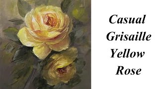getlinkyoutube.com-Casual Grisaille Yellow  Rose