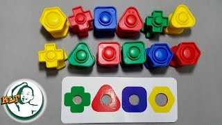 getlinkyoutube.com-Learn shapes for kids with plastic screw toy