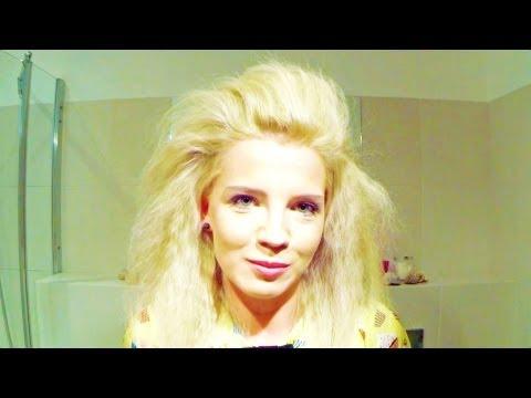 Jak nadać objętość włosom Modne Fryzury Big Hair Volume Tutorial