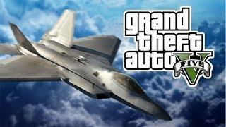 getlinkyoutube.com-GTA5 탈 것 : F22 랩터 - F-22 Raptor : [우왁굳]