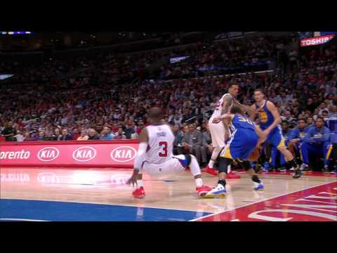 @StephenCurry30 Gives @CP3 the Slip with Wicked Cross
