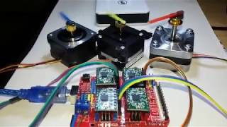 getlinkyoutube.com-arduino, cnc shield and grbl software