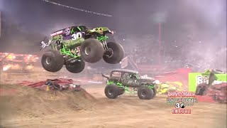 getlinkyoutube.com-Monster Jam World Finals XIII Encore 2012 - Grave Digger 30th Anniversary