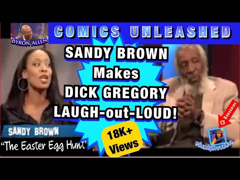 "Sandy Brown - Easter Egg Hunt- on ""Comics Unleashed"""