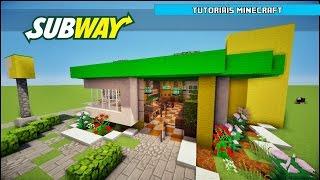 getlinkyoutube.com-Tutoriais Minecraft: Como Construir um Subway (Parte 1)